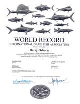 IFGA Gulf Toadfish Certificate