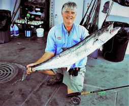 Texas Fly Fishing State Record King Mackerel - 30.4 lbs 51 inches