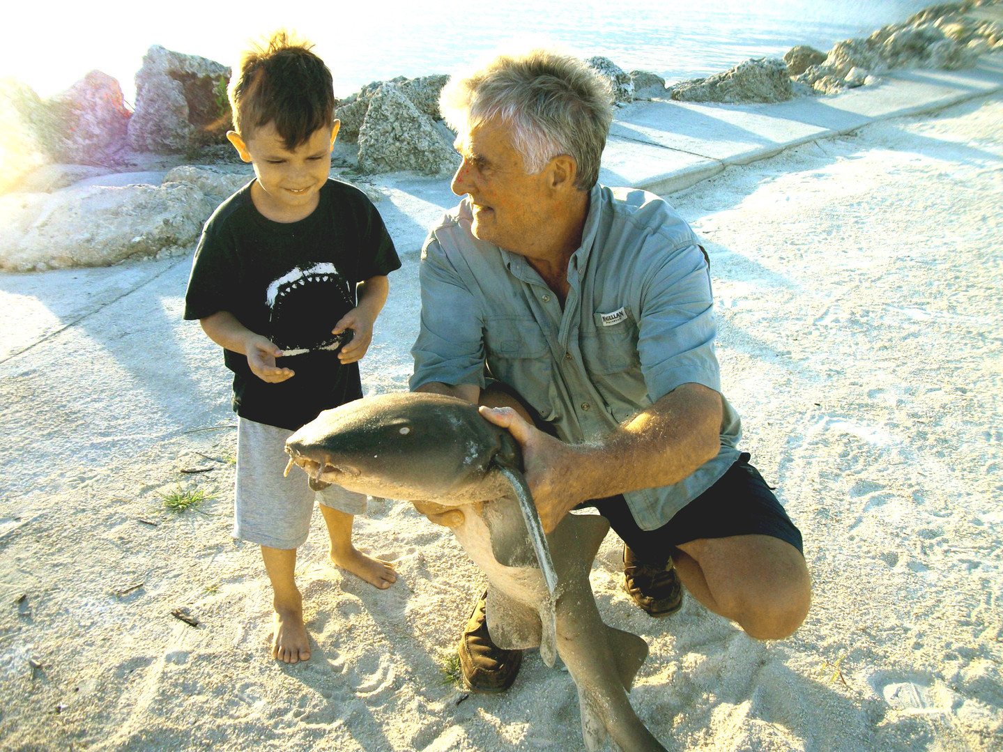 Braxton Mosley's personal best Nurse Shark
