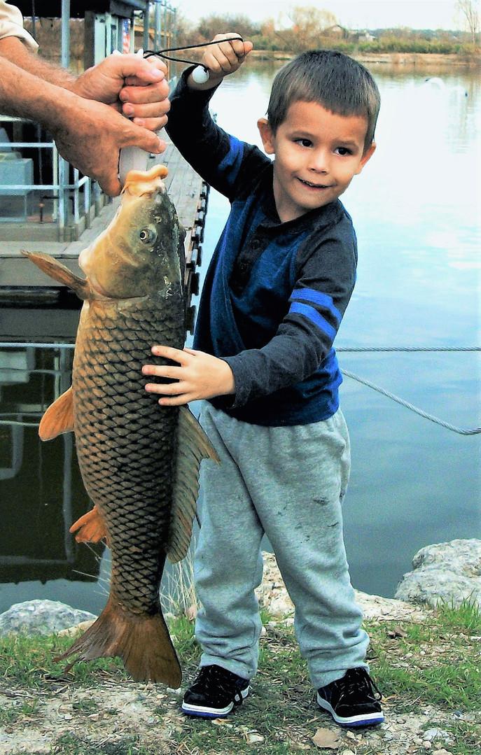 Lake Granbury Junior Angler Record Common Carp