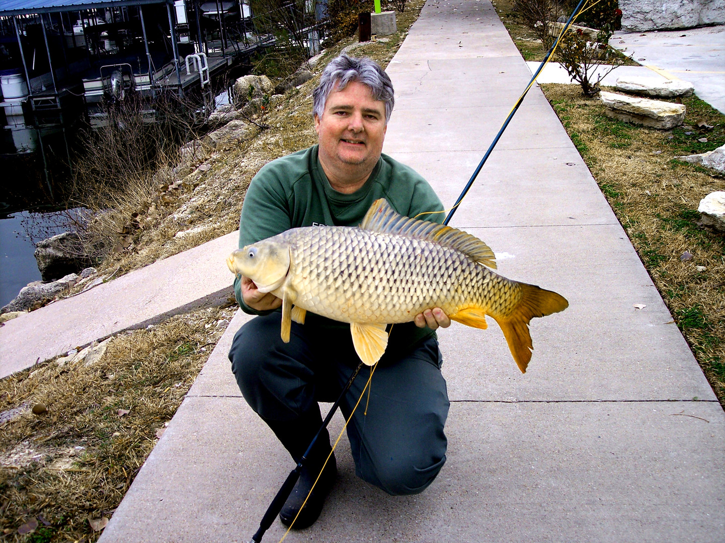 Early Lake Granbury Fly Fishing Waterbody Record Common Carp