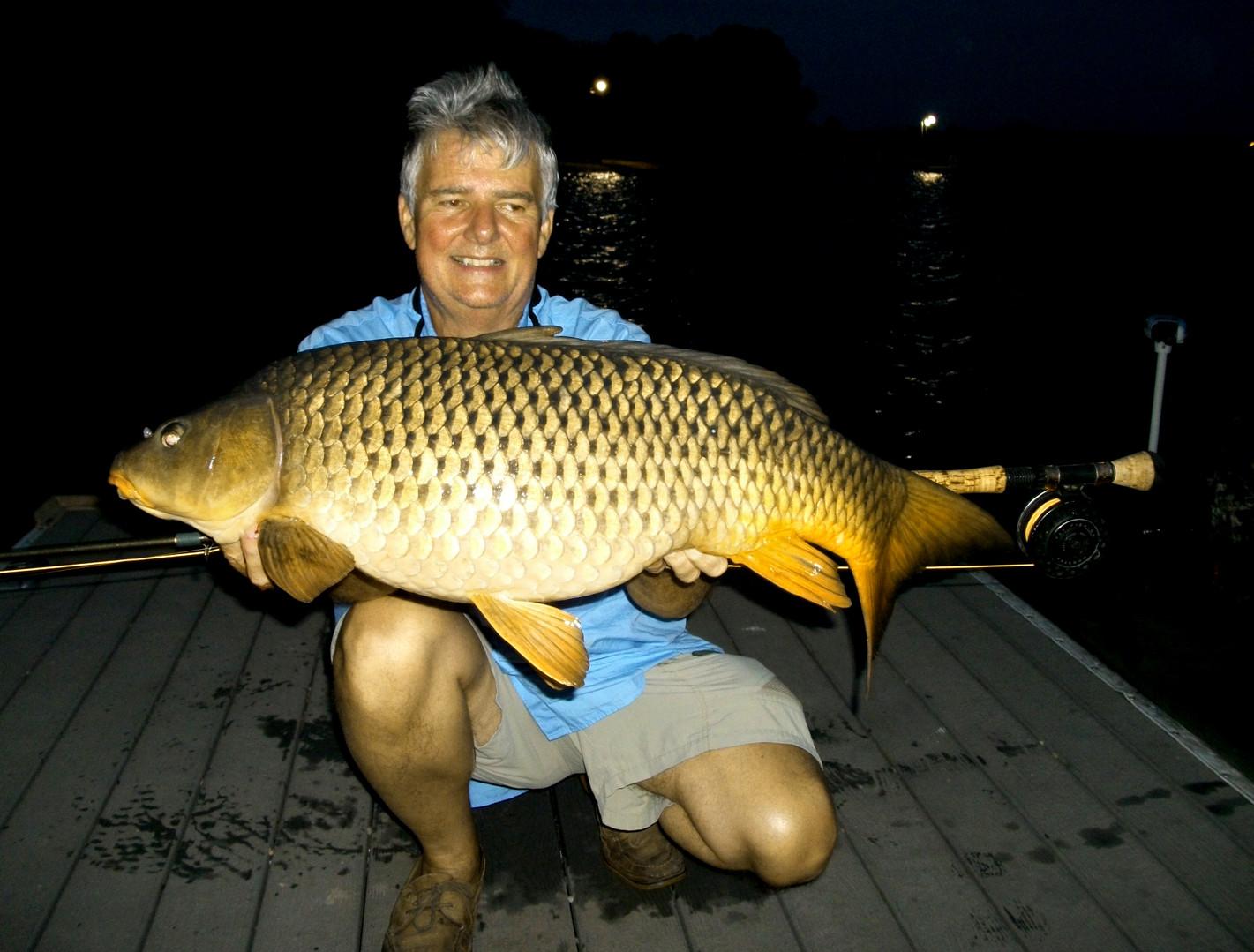 Lake Granbury Waterbody Record Common Carp 22.7 lb 33.5 inches