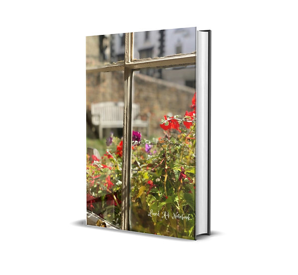 A4 Plain Notebook- Your Soul is Your Window