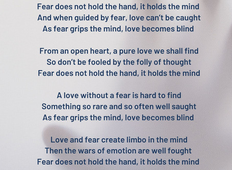 Poetry Lesson 1 - The Villanelle