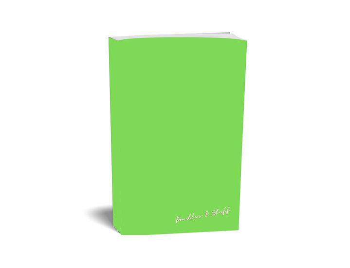 Doodles & Stuff - Plain A4 Notebook