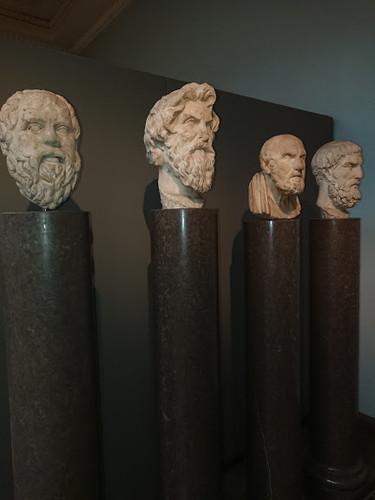 Philosophy heads - London Museum
