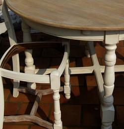 Patine Table et Chaises