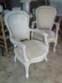 Patine de fauteuils