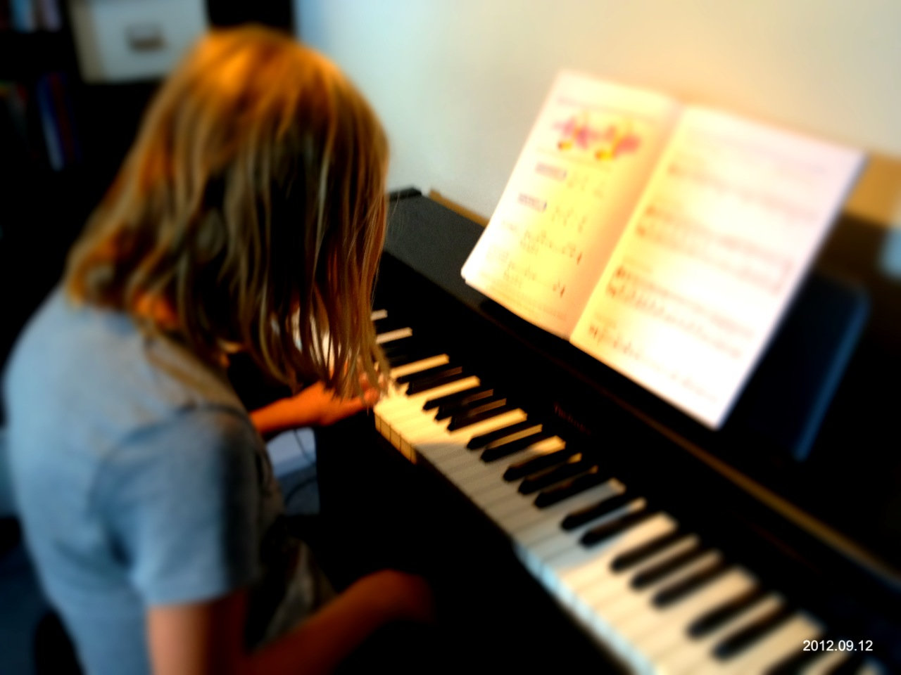 Pianoles op afstand
