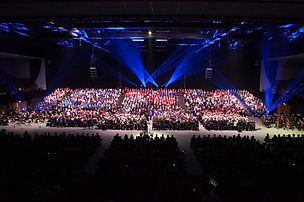 Brighton schools Concert at the Brighton Centre.