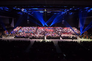 Brighton schools Concert at the Brighton Centre.