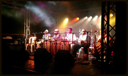 Mic's and Lights for an African band
