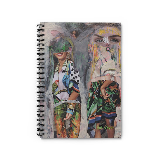 The Girls Spiral Notebook - Ruled Line