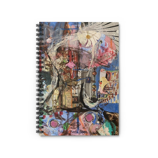 Quarantine Beauty Dreams of Chagall Spiral Notebook - Ruled Line