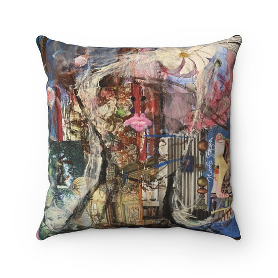 Quarantine Beauty Dreams of Chagall Pillow