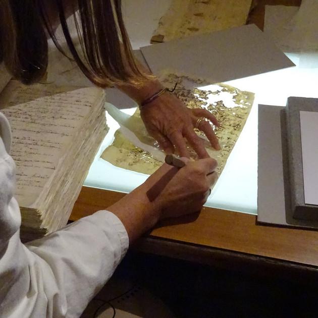 History Restoration. Volterra Italy 2017