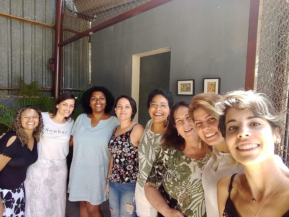 Dia de oficina de coach de inteligência emocional com Catharine Peres