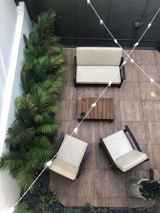 Jardim em residência
