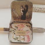 I love you jewellery box  #boxart #colla