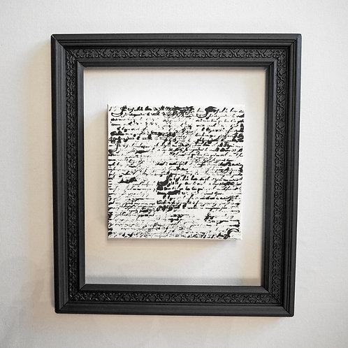 Scriptum black & white