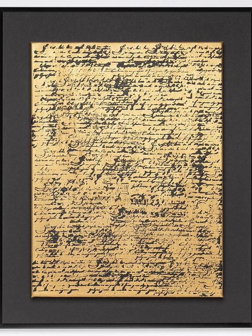 Scriptum black & gold