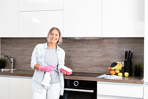 bigstock-Woman-Doing-Cleaning-Kitchen--3