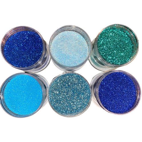 (OCEAN WAVE COLLECTION) - Glitter Bundle Deal - SUCRE' TREATS EDIBLE GLITTER