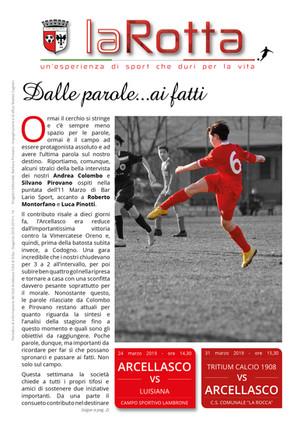 La Rotta: online il numero n. 14 - 2018/19