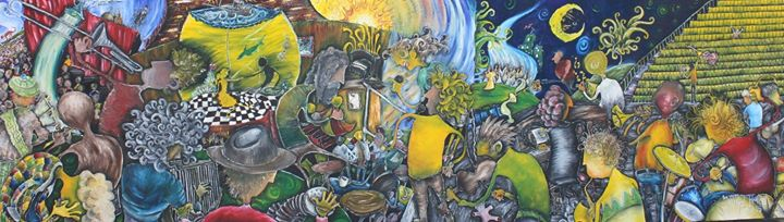 Musical Madness__This is my largest picture, named for it's size, randomness and whatever else that'