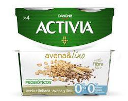 Activia Iogurte Avena & Lino