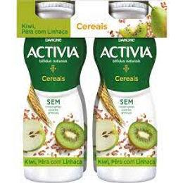 Activia Iogurte Liq. Kiwi e Pera 4x155gr
