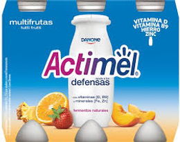 Actimel Iogurte Multifrutas 6x100gr
