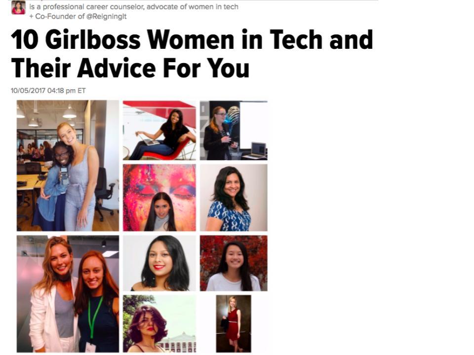 10 Girlboss Women in Tech