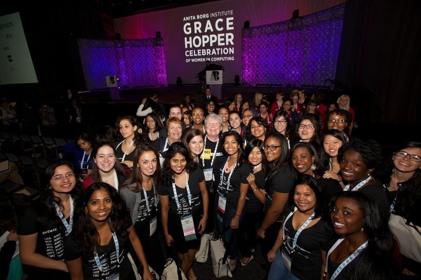 Attending Grace Hopper's Celebration