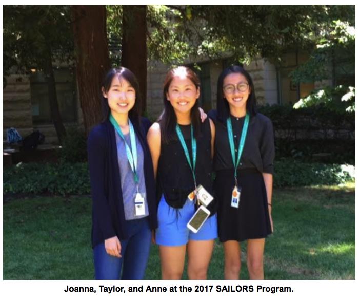 Taylor Fang, Anne Li, and Joanna Liu