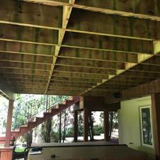 Porch Reinforcement