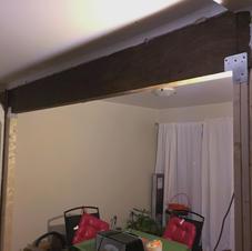 Load bearing wall removal
