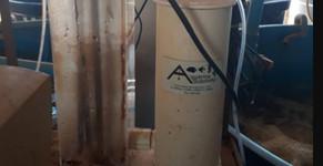 Produção de fertilizante orgânico com os filtros da Aquários Sobrinho