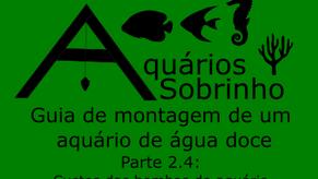 Guia de montagem de um aquário de água doce - Parte 2.4: Custos das bombas do aquário