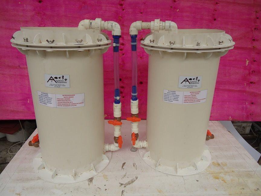 Filtro canister aquário