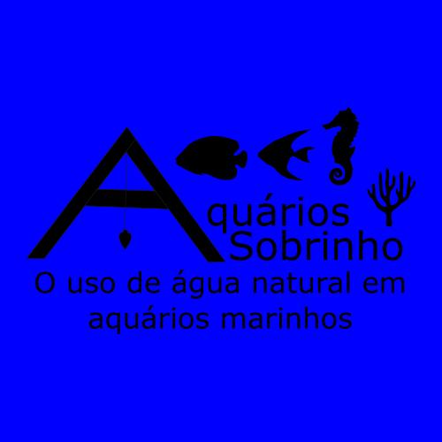 água natural aquário marinho