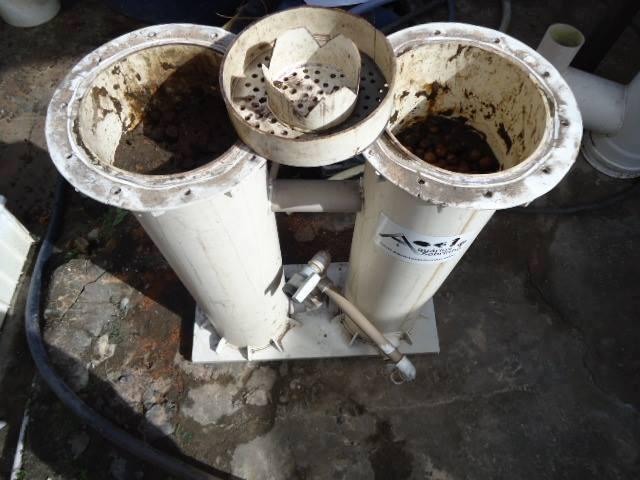 filtro canister lago