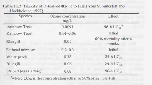 ozônio lago