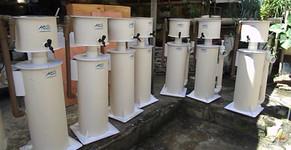 Skimmers Jumbo da Aquários Sobrinho na filtragem de tanques de lagosta