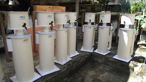 Filtro Skimmer Jumbo para filtragem de tanques de lagosta, peixe e camarão