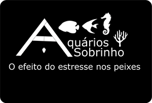 estresse peixe aquário