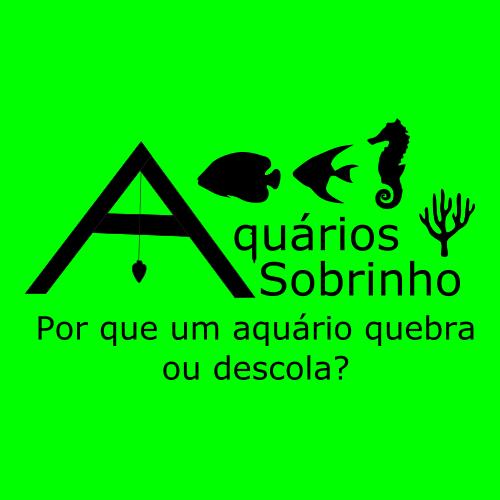 por que um aquário quebra ou descola