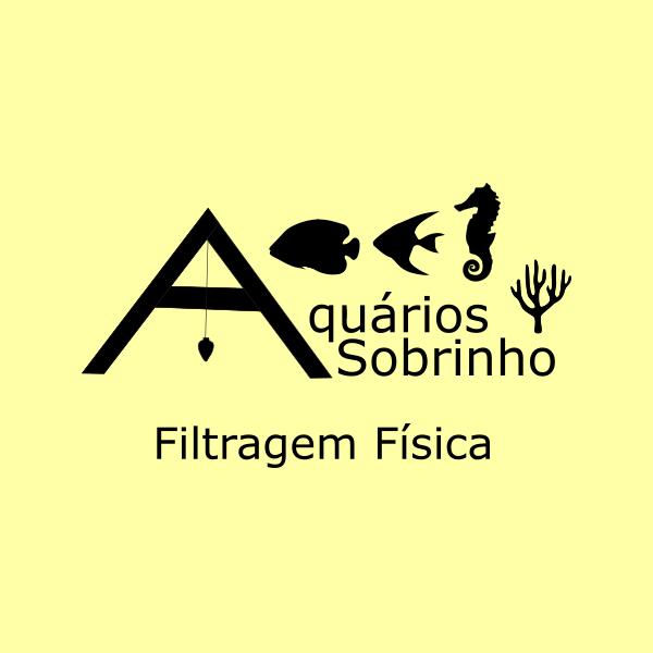 filtragem física mecânica aquário lago
