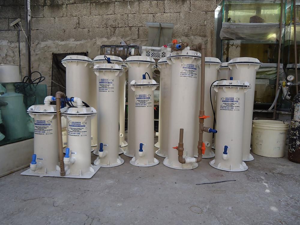 filtro pressurizado canister aquário