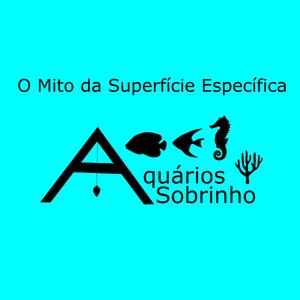 Superfície específica mídia aquário